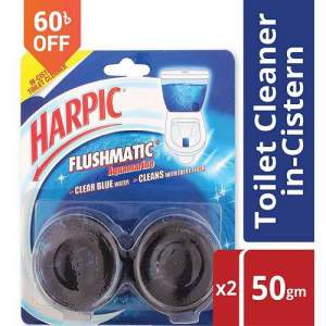 Harpic Flushmatic Toilet Cleaner Twin Pack