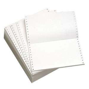 Continuous Dot Printing Paper 2 Ply, 1800 Sheet / Box