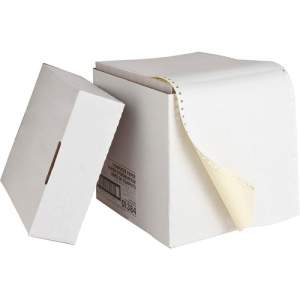 Continuous Dot Printing Paper 3 Ply, 1800 Sheet / Box