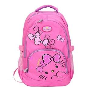 Polyester School Bag - Deep Pick