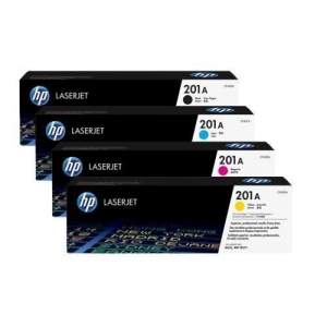 HP 201A Original LaserJet Toner Cartridge Set