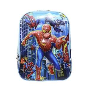 Oxford Fabric Lighting School Bag - Spiderman