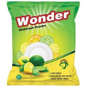ACI Wonder Dish Wash Powder - 500gm