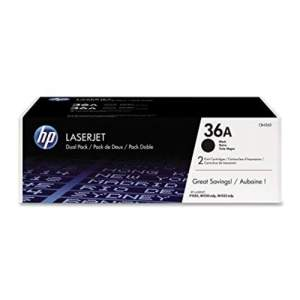 Black Genuine HP Toner 36A