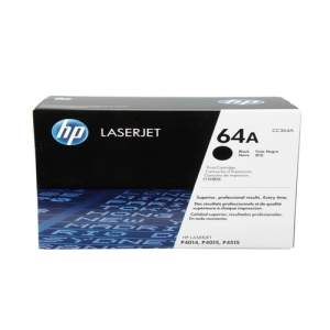 Black Genuine HP Toner 64A