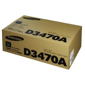 Black Genuine Samsung Toner ML-D3470A