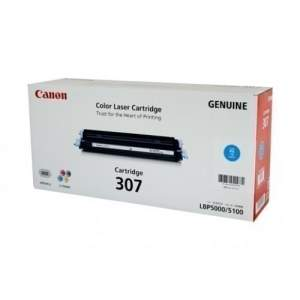 Canon Color Genuine Laser Toner 307 (Cyan)
