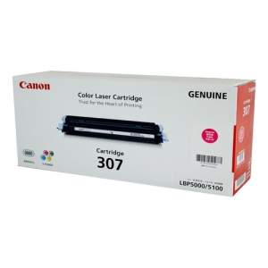 Canon Color Genuine Laser Toner 307 (Magenta)