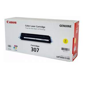 Canon Color Genuine Laser Toner 307 (Yellow)