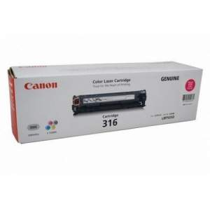 Canon Color Genuine Laser Toner 316 (Magenta)