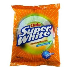 Chaka Super White Washing Powder - 500gm