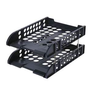 Deli Document Tray - 2 Tier (Plastic)