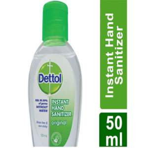 Dettol Instant Hand Sanitizer, 50 ml