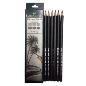 Faber Castell BlackMatt Pencil - 2B