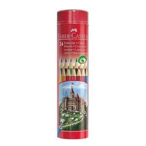 Faber Castell Classic Color Pencil - 24Pcs (Long, Tin )