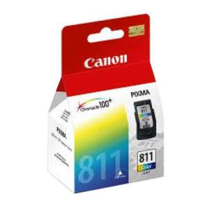 Genuine Canon Cartridge CL-811 XL(Color), Each
