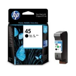 Genuine Cartridge HP 45A Black