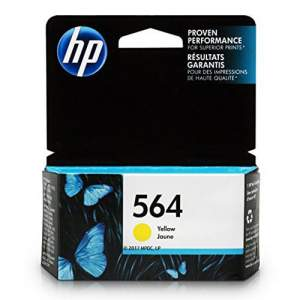 Genuine Cartridge HP 564 Yellow