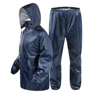 Rain coat with trousers