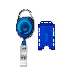 ID Card Holder with Ring