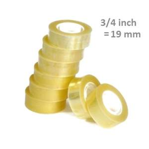 "Scotch Tape 3/4"" Inch - 19 mm"