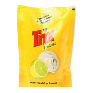 Trix  Lemon Dishwashing Liquid (Refill) - 250 ml