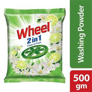 Wheel Washing Powder 2in1 - 500gm