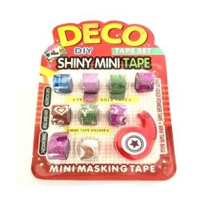 Deco Shiny Mini Tape Set