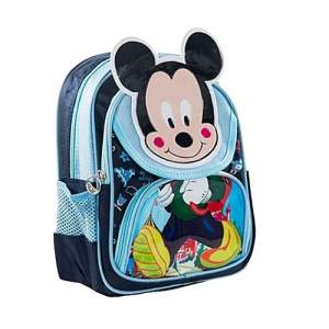 Polyester School Bag - Mickey Blue