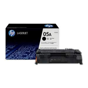 Black Genuine HP Toner 05A