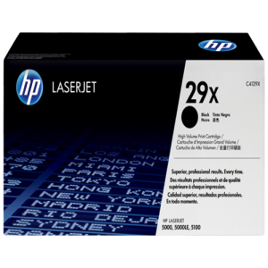 Black Genuine HP Toner 29X