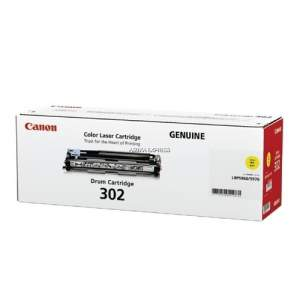 Canon Color Genuine Laser Toner 302 (Yellow)
