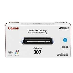 Canon Color Genuine Laser Toner 307 (Black)