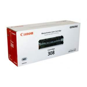 Canon Genuine Laser Toner 308 (Black), Each