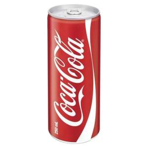 Coca Cola Can - 250 ml