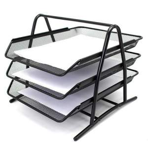 Deli Document Tray - 3 Tier (Mesh)