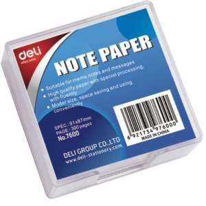 Slip Pad Box (Transparent Plastic Case)