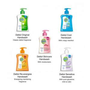 Dettol Handwash Pump, 200 ml