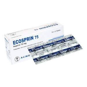 Ecosprin 75mg - 10 pcs