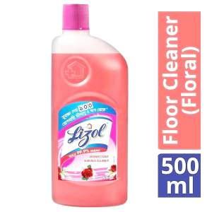 Lizol Floor Cleaner (Floral) - 500 ml