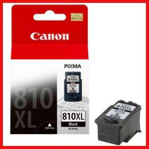 Genuine Canon Cartridge 810 XL, Black, Each