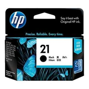 Genuine Cartridge HP 21 Black