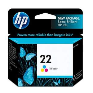 Genuine Cartridge HP 22 Tri-Color