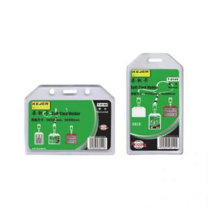 ID Card Holder plastic (Hard) -1 Pc