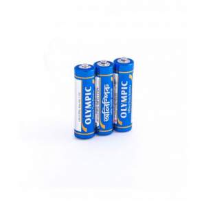 Olympic Pencil Battery Metal AA 1.5V - 2pcs