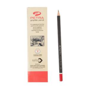 Petra Graphite Pencil, HB - 12 Pcs Box