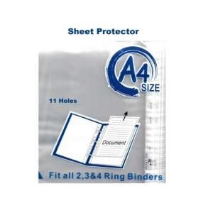 Sheet Protector - A4, 11 Holes (China)