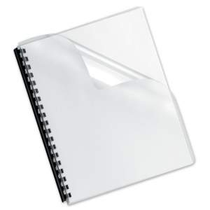 Spiral Binding Cover - A4 Transparent (100 Sheets/ Pack )