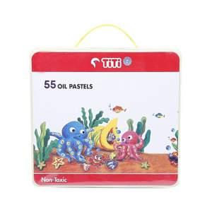 TiTi  Oil Pastel Multi Color - 55 Pcs