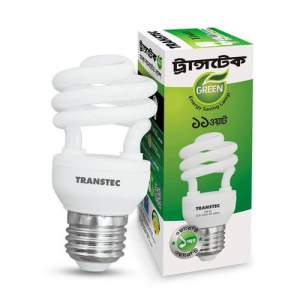 Transtec Green CFL Energy Saving Light-11 watt